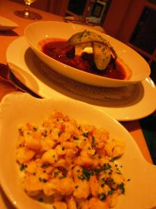 Hungarian Goulash with Spaetzle