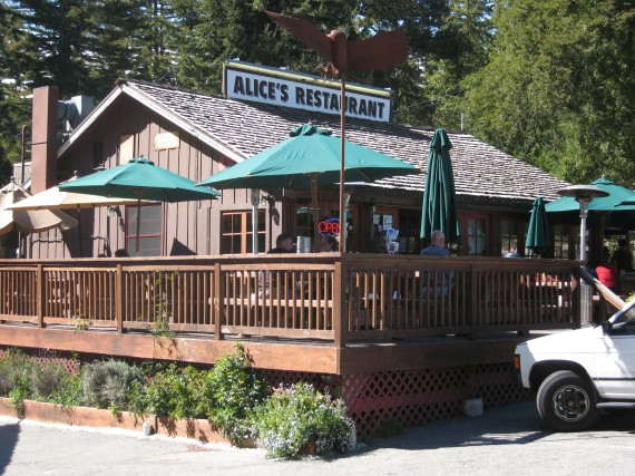Alice's Restaurant, made famous by Woodie Guthrie