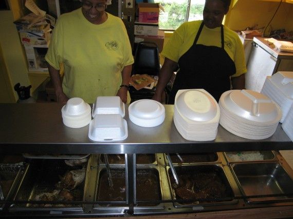 Little Chow Line at Creole Lunch House, Lafayette LA