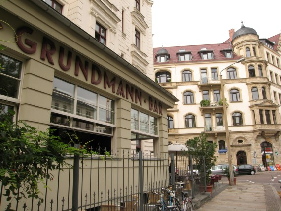 Cafe Grundmann in Leipzig, Germany
