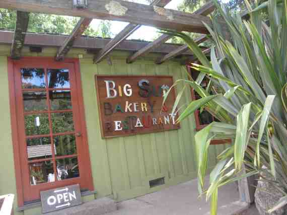 Big Sur Bakery & Restaurant, Big Sur CA