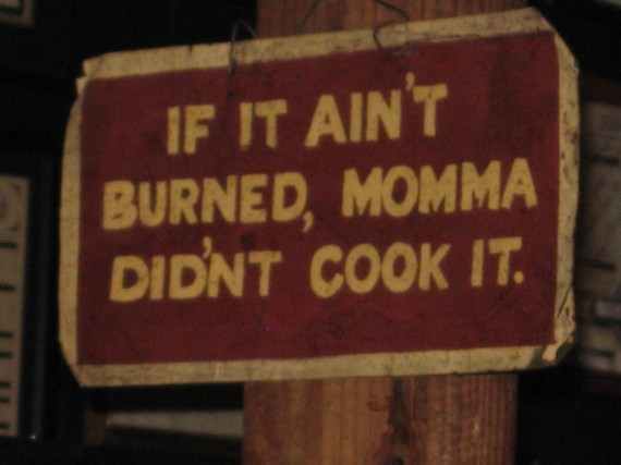 Great Sign, Iron Works BBQ, Austin TX