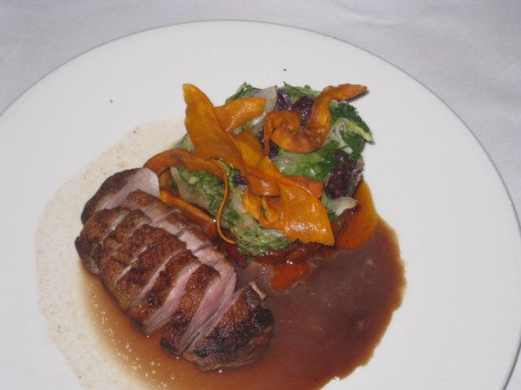 Duck Breast, Elite Cafe, SF