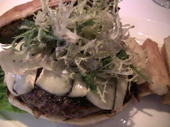 Truffle Burger, Lark Creek Steak, SF