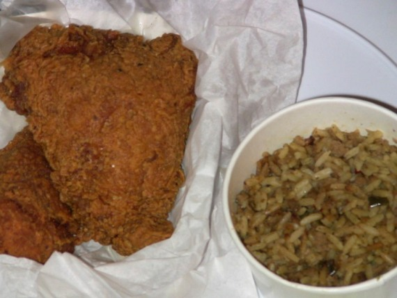 Louisiana Fried Chicken + Dirty Rice